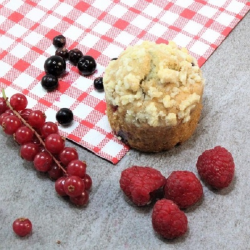 Mini Muffin aux fruits rouges